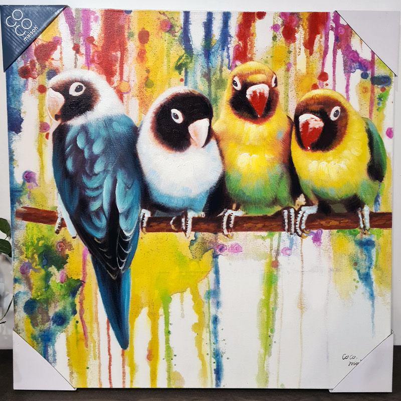 obraz parrots 1